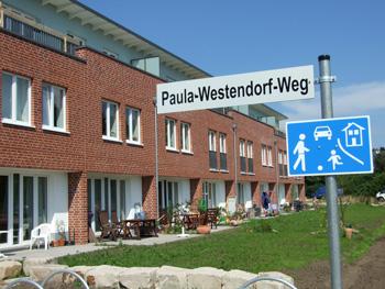 Foto Wohnungsbau Paula Westendorf Weg